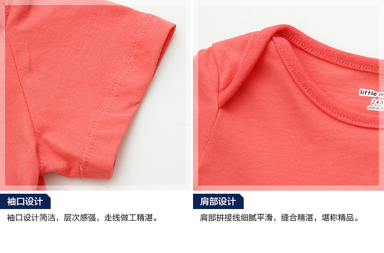 HTB1Ynn7hiqAXuNjy1Xdq6yYcVXaw - Little Maven New Summer Children Clothing Cute Short O-neck Elephant Applique Quality Striped Cotton Boys Casual Tshirt