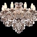 Lustre de Cristal de luxo Para Sala de estar sala de jantar lustre de cristal Moderna Lustres Luminária Decoração Do Casamento