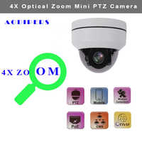 5MP infrared IP PTZ Camera Dome outdoor supports onvif H.265 2.8-12mm Motorized Lens Waterproof for Security Camera Surveillance