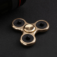 Hot Selling EDC Toys Triangular Hand Spinner High Quality Metal Profession Hand Spinner ADHD Tri Spinner