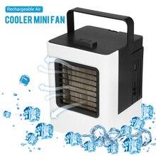 Перезаряжаемый мини портативный кондиционер увлажнитель воздуха очиститель Настольный вентилятор охлаждения воздуха охладитель воздуха вентилятор для автомобиля офиса дома