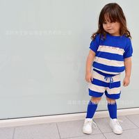NEW Fashion Bobo Choses Baby Boys And Girls Children S Candy Colored Knitting Shorts Casual Striped