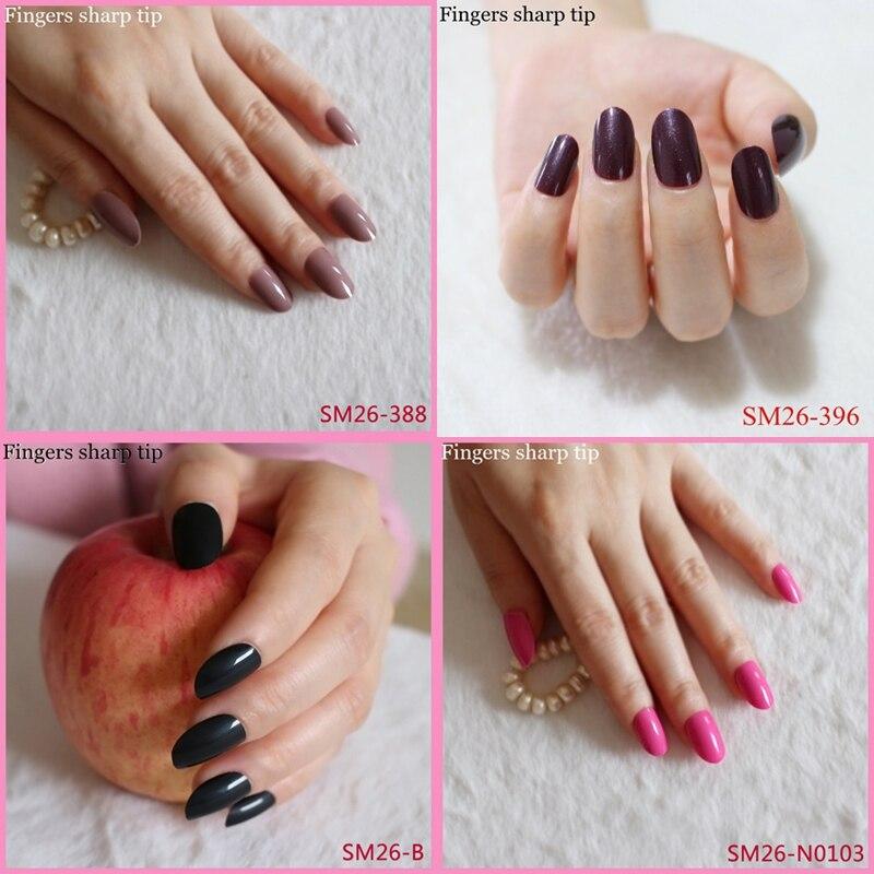 Fancy Sharp Fake Nails Vignette - Nail Art Ideas - morihati.com