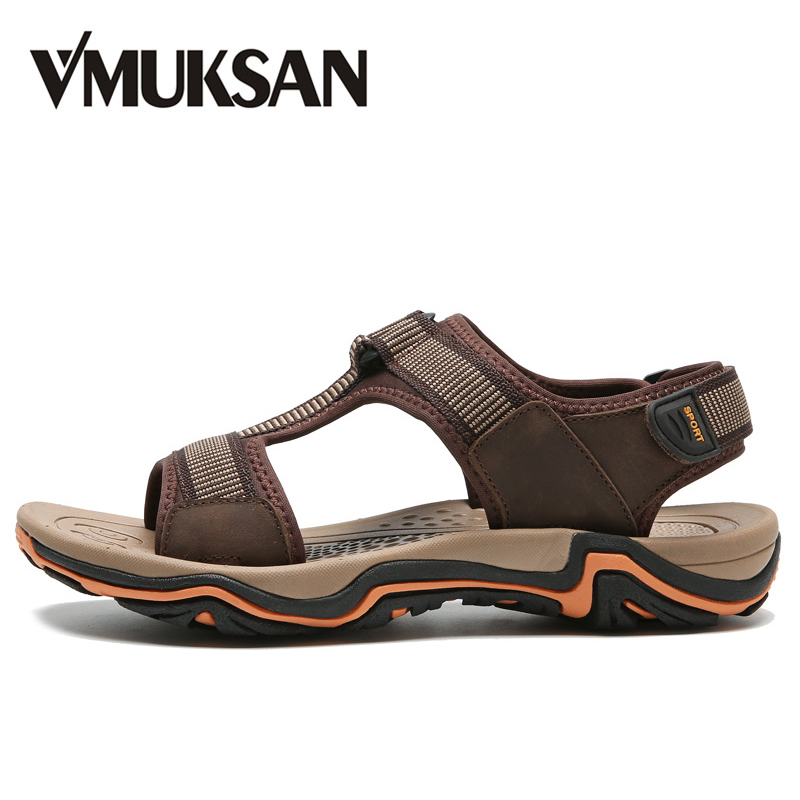 b18db28bc68ac VMUKSAN New Sandals Men Fashion Leisure Man Shoes 2018 Summer Cool  Comfortable Mens Beach Shoes Size