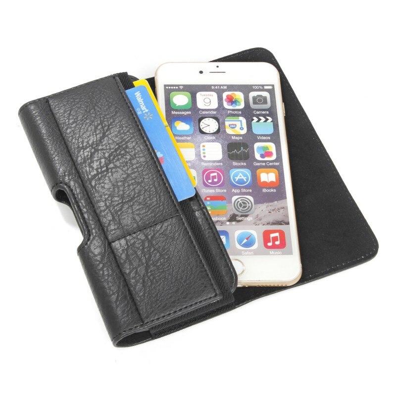 Stone Pattern PU Leather Waist Bag Belt Clip Pocket Pouch Phone Holster Case for Lava Iris X5 4G/X8/Fuel F2/Atom 2X/X1/A97/A51