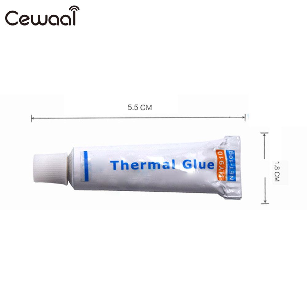 White Silicone Cooling Paste Conductive Silicone Grease Thermal Grease CPU PC Cooler Heatsink