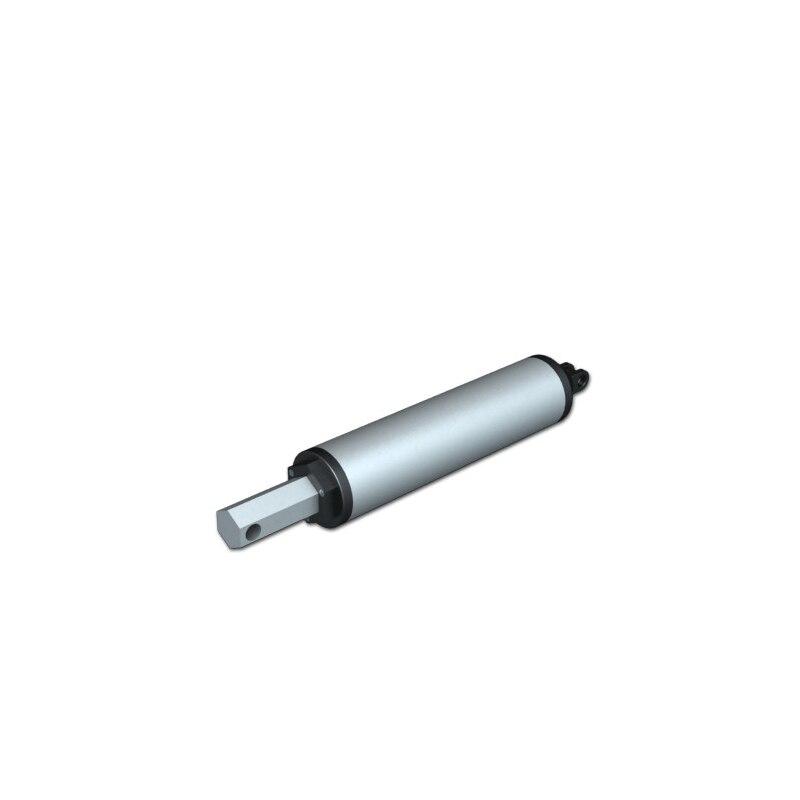 250mm course 230mm/sec vitesse 100N = 10 KG = 22LBS 12 V 24 V DC actionneur linéaire haute vitesse LA13