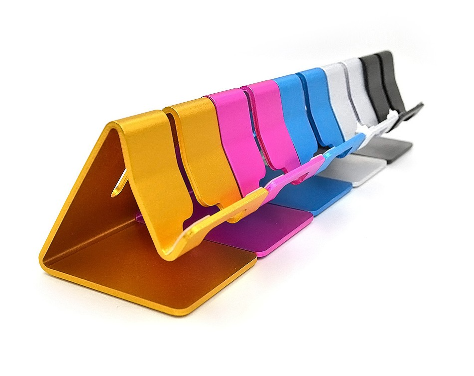 RAXFLY Uniwersalny Aluminium Metal Telefon Uchwyt Stojak Na iPhone 6 7 Plus Samsung Tabletka S8 Biurko Stojak Uchwyt Do Telefonu Inteligentnego Zegarka 14