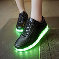 USB charging Glowing Footwear infantil Tenis Led Feminino Simulation Light Up Male basket led slippers Luminous sneakers Femme