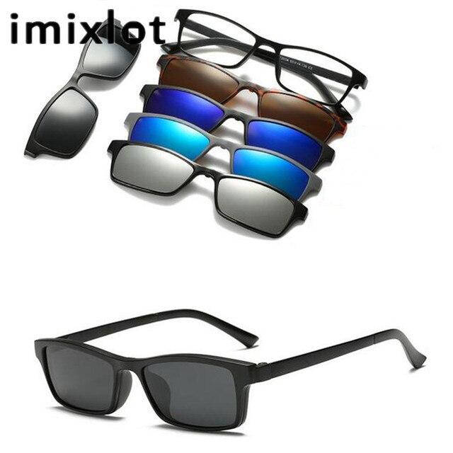 Imixlot clip specchio occhiali da sole magnetica - Specchio polarizzato ...