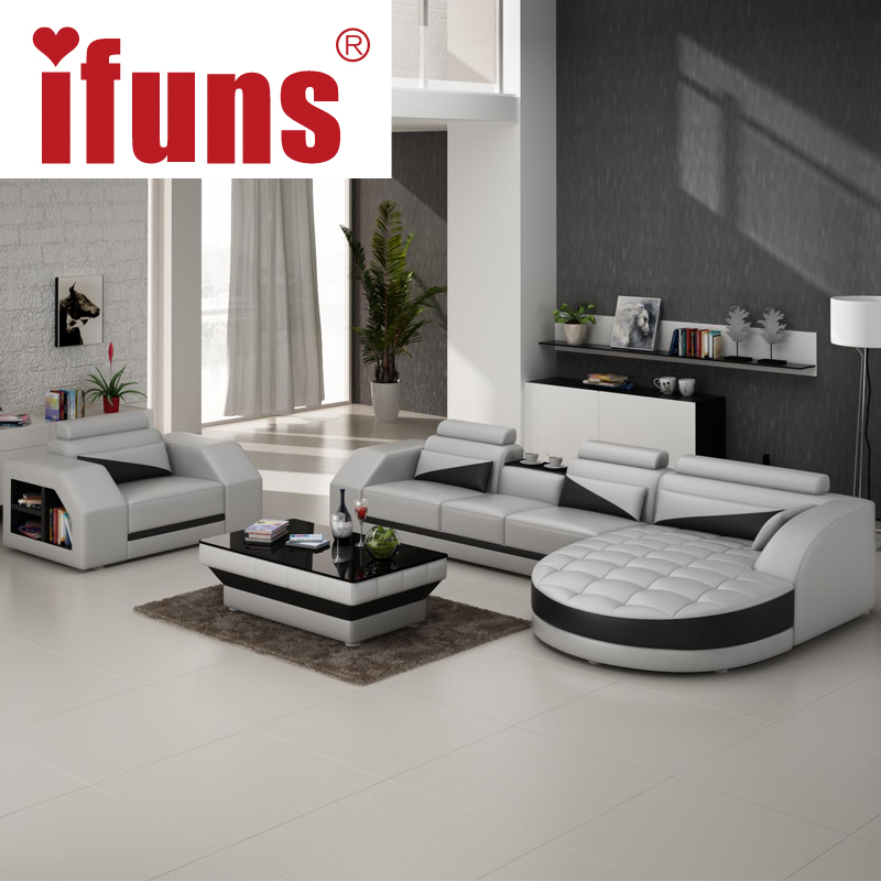 IFUNS Designer Corner Sofa Bed,european And American Style Sofa,recliner Italian  Leather Sofa Set Living Room Furniture In Living Room Sofas From Furniture  ...