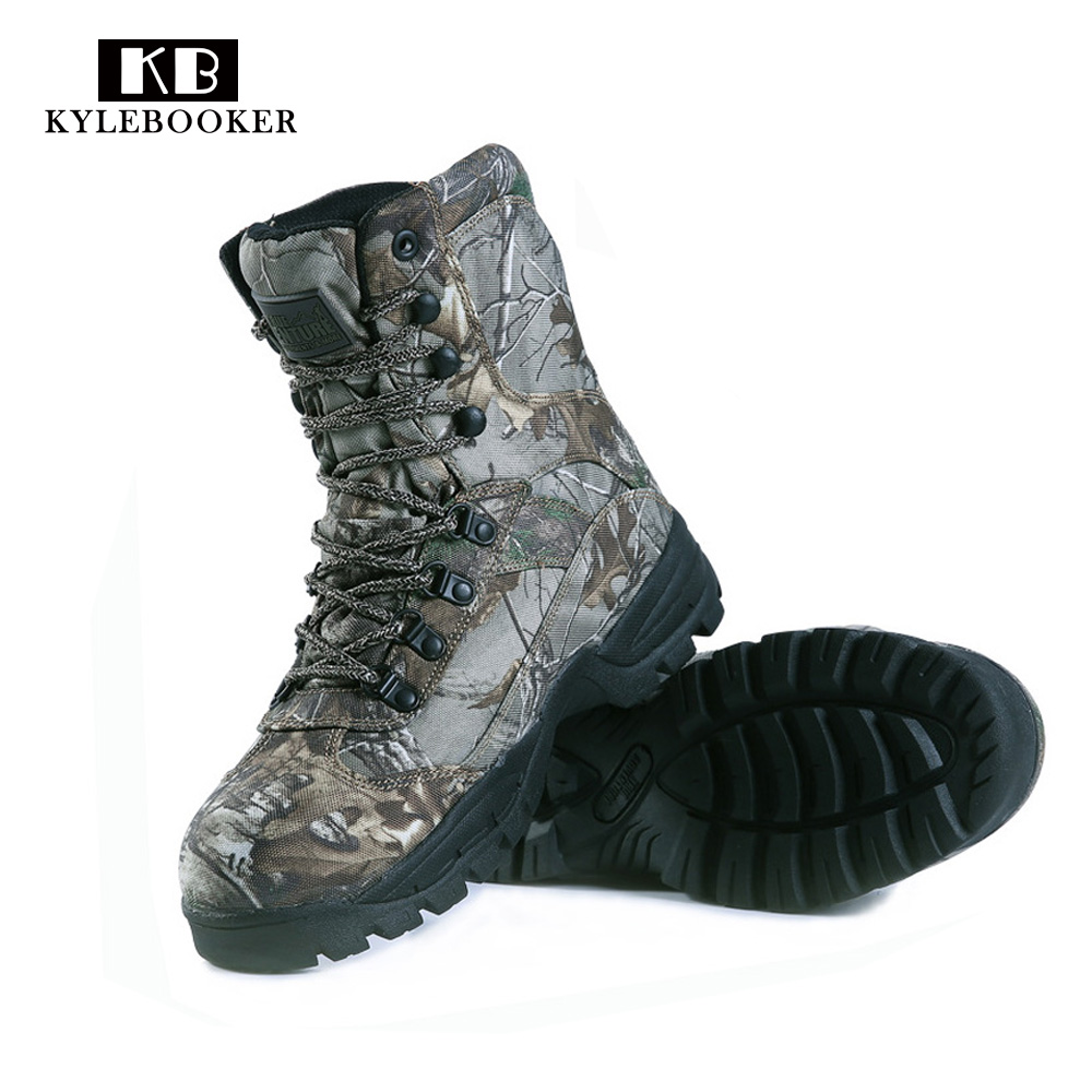 Tactical boot Hiking Trekking camo hunting boots Camouflage Hunting Boot waterproof hunting tactical boots waterproof 2016 sale professional men s boots camouflage military boot waterproof hunting hiking shoes size euro 39 44 bo01