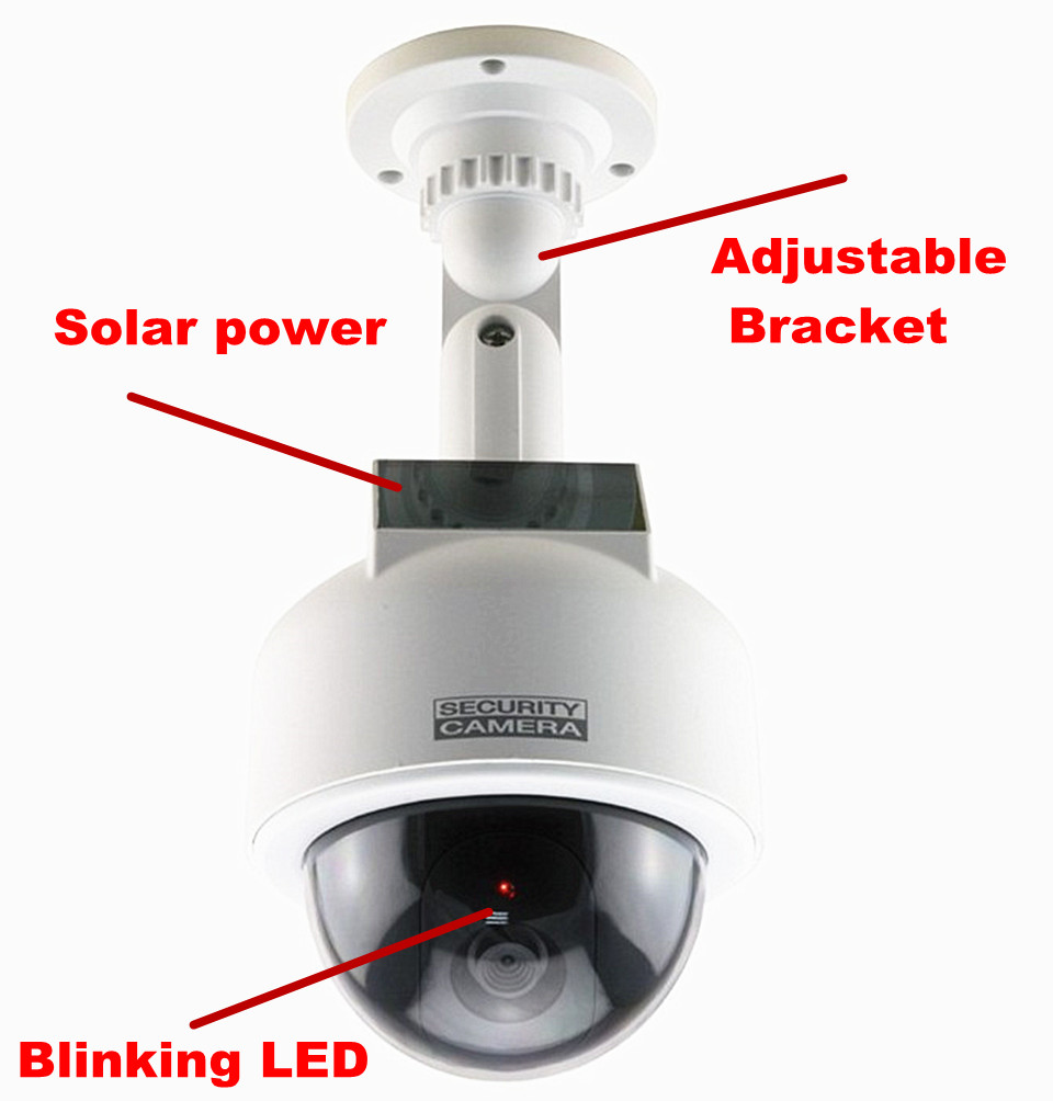 led torch camera picture more detailed picture about fake camera dummy security solar powered. Black Bedroom Furniture Sets. Home Design Ideas