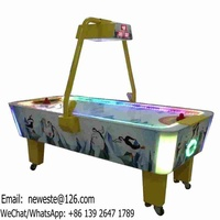 Indoor Playground Device Amusement Park Adults Teenagers Coin Operated Arcade Game Machine Air Hockey Table