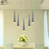Modern LED Pendant Light Industrial Lighting Creative Sliver Pendant Lamp Kitchen Fixture For Dining Room Hang