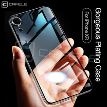 Cafele Luxury TPU Case for iPhone X XS MAX XR Original Transparent Soft Cover Clear