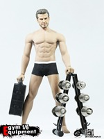 1/6 Scene Series EY01/EY02 Gym Equipment Dumbbell set For 12 inches Action Figures Accessories