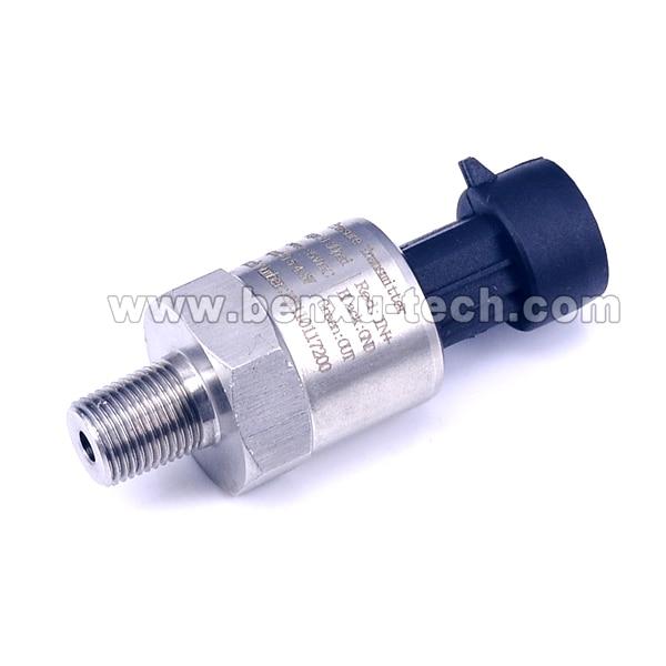 Cavo 0.3m, 10bar, 12VDC, 1-5V, NPT1 / 8 Olio combustibile Diesel Aria Gas Importazione acqua Trasmettitore del sensore di pressione in ceramica