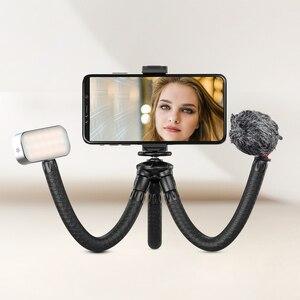Image 3 - APEXEL 2 في 1 الأخطبوط مرنة ترايبود Selfie عصا في الهواء الطلق حامل ثلاثي متنقل مع البعيد للهاتف DSLRs الرقمية ل GoPro نيكون