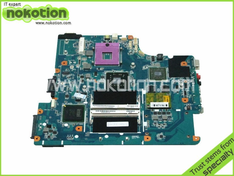 A1599542A laptop motherboard for sony VGN-NS MBX-195 REV 1.1 1P-0087J04-8011 intel PM45 ATI 216-0707007 DDR2 Free shipping