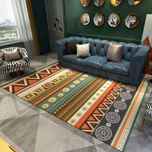 American Nordic Chenille Geometric Carpets For Living Room Home Bedroom Rugs Coffee Table Area Rug Play Delicate Mat