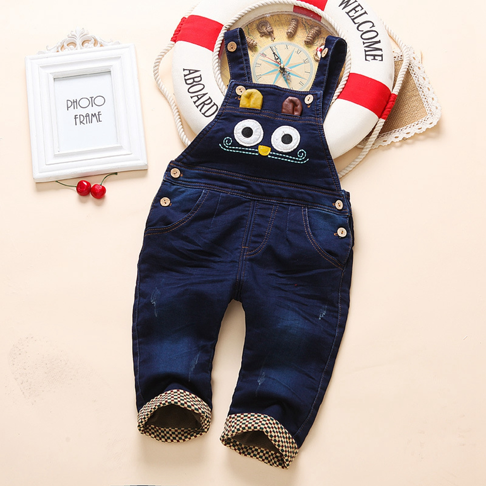 6m- 3Years Baby Winter Overall Toddler Warm Velvet Owl Hooded Rompers Infant Long Pants Kids Girls Boys jumpsuit Pink Blue цена