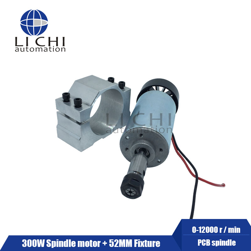 Shop Promotions FREE 1pcs ER11 chuck 0.3kw spindle DC 12-48 CNC 300W Spindle Motor Mount Bracket 24V 36V for PCB Engraving набор посуды vitesse family vs 2906