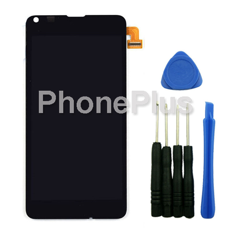 For Nokia Lumia 640 LTE Touch Screen Panel Digitizer Glass LCD Display Assembly With Tools