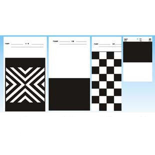 Printing Ink Drawdown Sheets Hiding Power Test Board Opacity Display Charts black white paper card  paints excel charts