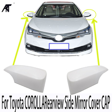 Base color Rearview Side Mirror Cover CAP For Toyota COROLLA 2014 2015 2016 ZRE18# OEM:87945-02930 87915-02930