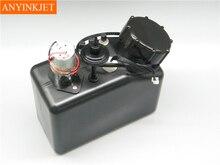 цена на 1L UV tank with liquid sensor with stirring motor with filter for UV printer white inks sub ink tank UV bulk tank 4 connector