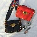 Mais recente Moda Pequeno de Couro PU Crossbody Sacos do Desenhador das Mulheres Bolsas de Marca Senhoras de Alta Qualidade Ombro Messenger Bags 2017