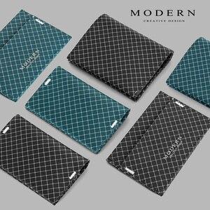 Image 3 - Moderne Ripstop Bifold Mannen Portemonnee Super Slanke Kaarthouder Machine Wasbare Duurzaam en Waterdicht Designer portefeuilles beroemde