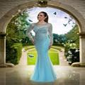 Uzun gece elbisesi 2016 восточный вечернее платье с камнями горный хрусталь платье с длинным рукавом выпускного вечера халат де вечер сирене abiye