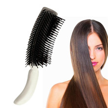 Comb Small plastic Vent Hair Brush Comb - Anti-Static Cosmetic Needle Comb Tools High quality Tools PVC makeup brushes(China)