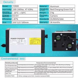 Image 5 - Зарядное устройство YZPOWER для Ebike, 87 в, 8A, 7A, 6A, 5A, 72 в