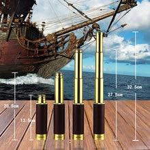Pirates of the caribbean 25×30 telescopio Monocular telescope optics Nautical Brass Spyglass Maritime Outdoor Camping Genuine