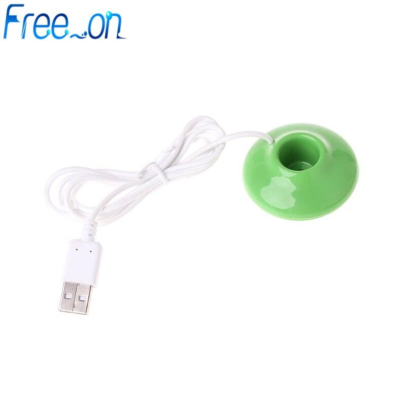 Portable Mini USB Donut Humidificateur Purificateur d/'air Aroma Diffuseur Bureau Maison Voiture