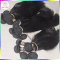 8a Grade virgin unprocessed human hair Persian Sleek Straight wave 4 bundles Ali Market wefts