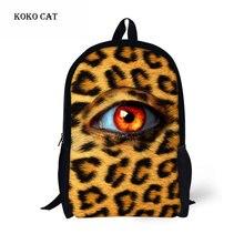 3D Big Eyes Printed Packbag Fashion Backpack  Boys Girls Large-capacity School Bags Men Women Personalized Travel Bag mochila