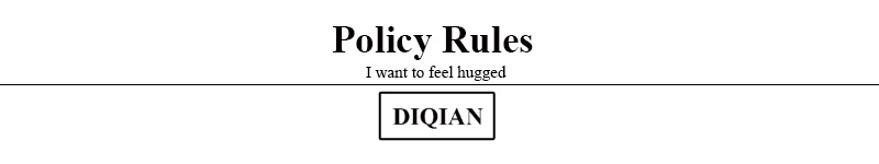policy reles