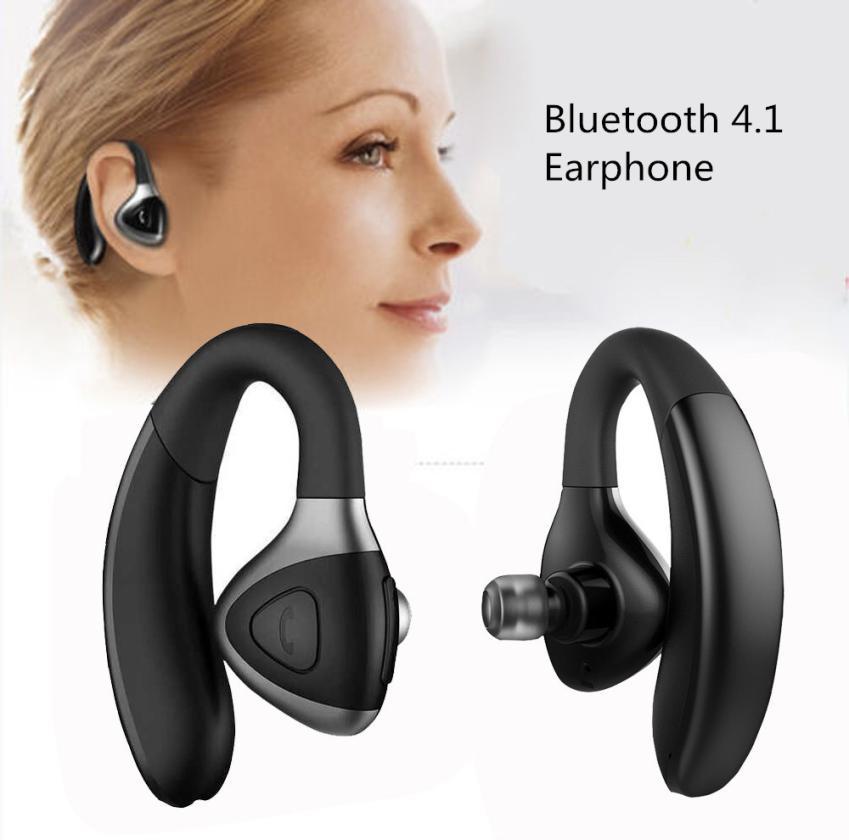 Wireless Bluetooth 4.1 Headset Sport Stereo Headphone Earphone for iPhone MI S106 CSR8615 driving business traveling