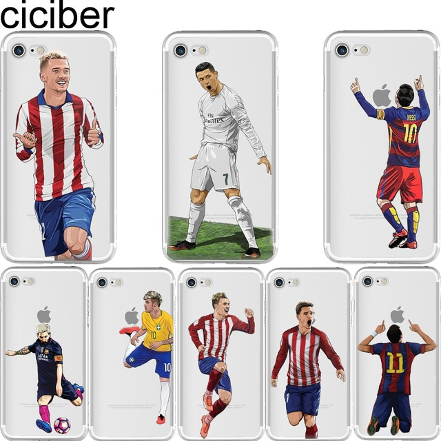 coque iphone 6 football silicone