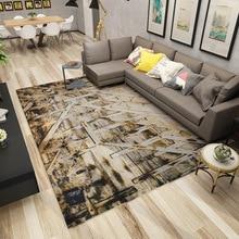 Nordic Geometric Carpets For Living Room Home Decor Modern Carpet Bedroom Bedside Soft Doormat teppich Rugs Floor Blanket Area