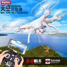 SYMA X5SW X5SC Drone RC 2.4G 4CH 6-Axis Quadcopter Con Cámara de 2MP WiFi Helicóptero de Control Remoto de Vídeo En Tiempo Real FSWB