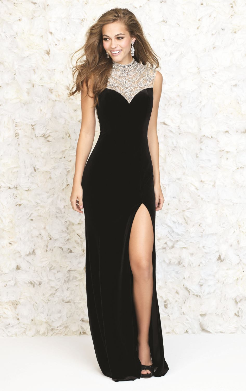 Model Evening Dress