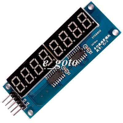 74HC595 8Bit 8 Digit LED Display Module Red Digital Tube 0 36 for Arduino