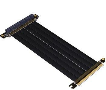 بطاقة رسومات كابل موسع من Gen3.0 PCI-E 16x إلى 16x بطاقات PCIe x16 مصممة حسب الطلب على شكل كوع gtx 1080TI سرعة كاملة