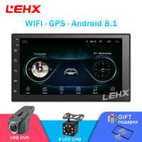 7''Car Android8.1 Autoradio stéréo GPS Navigation Bluetooth USB 2 Din tactile voiture lecteur multimédia lecteur Audio Autoradio évalué
