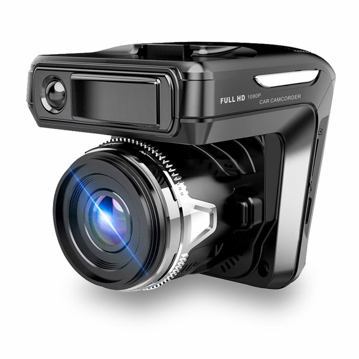 KROAK 2.4'' 3 In 1 Car DVR Camera Anti Radar Detector Laser HD 720P Built-in GPS Logger Alarm System Digital Video Recorder gps навигатор lexand sa5 hd